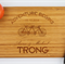 Personalized cutting board by Treex, anniversary and wedding gift