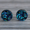 Druzy stud earrings.