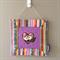 Nursery/child's room wall decor - Owl (Purple)