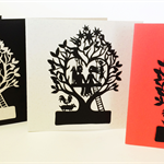 'Family Tree 4' Papercut Gift Card