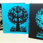 'Together' Papercut Gift Card