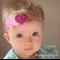 GLITTER HEARTS headband.Baby / girl -All ages. Accessory.