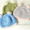 pom pom beanie | crochet | newborn
