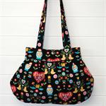 Russian gypsy print bag
