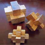 hand made wooden puzzles