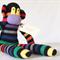 Matt Monkey, sock monkey from lostsockshome