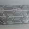 Nappy Wallet/Clutch - Grey Arrows Modern Nappy Wallet