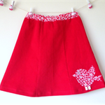 Girl's  A-Line Skirt - Size 8 - One of a Kind