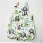 Baby Boy Elephant Vintie Overalls