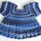 Crocheted Bella Rebekah Cardigan. Size 2