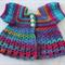Crocheted Bella Rebekah Cardigan. Size 3