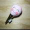 Light pink Ice cream rattle