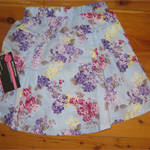 Floral Skirt Size 3-4