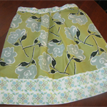 Floral skirt Size 6-7