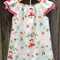 Gorgeous Seaside dress, size 3, Riley Blake fabric