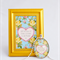 framed print and pendant set, love quote, gold
