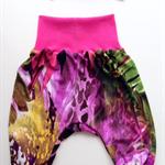 Tropical Baby Harem Pants And Matching Head Band Set