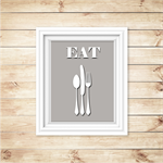 Kitchen Wall Art - PRINTABLE - Kitchen Wall Decor