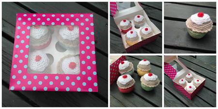 Cupcake Set - Play food