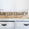Custom Surname Established Timber/ Wooden Sign