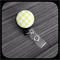 Yellow and White Gingham: ID Badge Reel