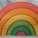 Beautiful Rainbow Stacker - Waldorf Steiner