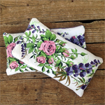 Heat Pack Lavender and Rice Upcycled Linen