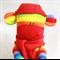 Sock Monkey Rainbow Stripes, Soft Toy
