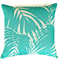 Palms Cushion Cover in Turquoise