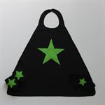 Boys Black and Green Super Hero Set (Star)