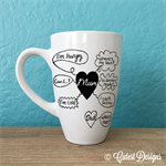 Mother's Day Mug gift. Hand-painted, lettering funny quote. Whining hungry etc