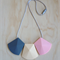 Silicone Teething Necklace -Willow in Pink-