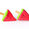 Watermelon icy pole stud earrings