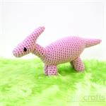 Crochet Dino Parasaurolophus