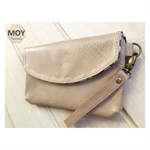 Biscotti Leather Wallet clutch
