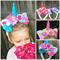 Rose metalic pastel Unicorn magical flower crown headband. Available custom spot