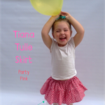 sizes 1-5, tiana tulle skirt, pink