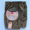 Girl's Bubble Shorts, Donkey Brown, sizes 6-12 months to 8