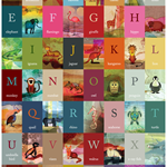 An Animal A-Z Poster