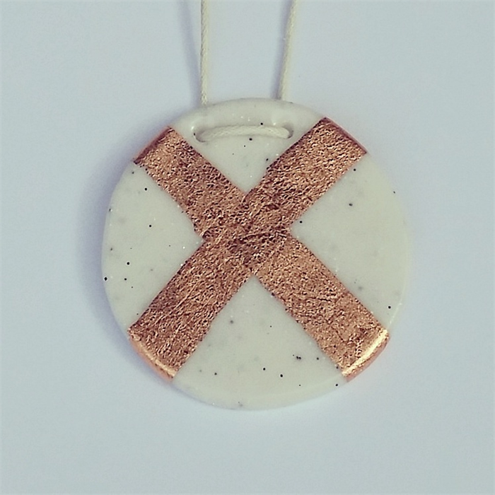 Marble Monochrome Polymer Clay Geometric Wooden Adjustable
