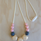 Silicone Necklace -Rose in Pink-