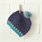 boys beanie | crochet | toddler | wool | 1-3 years