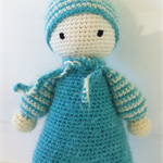Crochet Sweet Fluffy Baby Doll