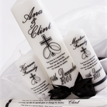 5 Piece Personalised wedding unity set bride groom family candles gift or gifts