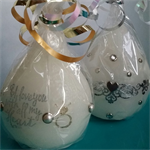 """""""Wedding"""" candles - Pears"""