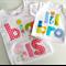 Big Sister Little Brother Birth Announcement Tshirt Onesie Matching Set