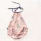 'Tiny Dancer' Pink and Black Ballet Shoes Romper Playsuit Baby Girl Set