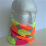 Neckwarmer: double-layered light-weight polarfleece