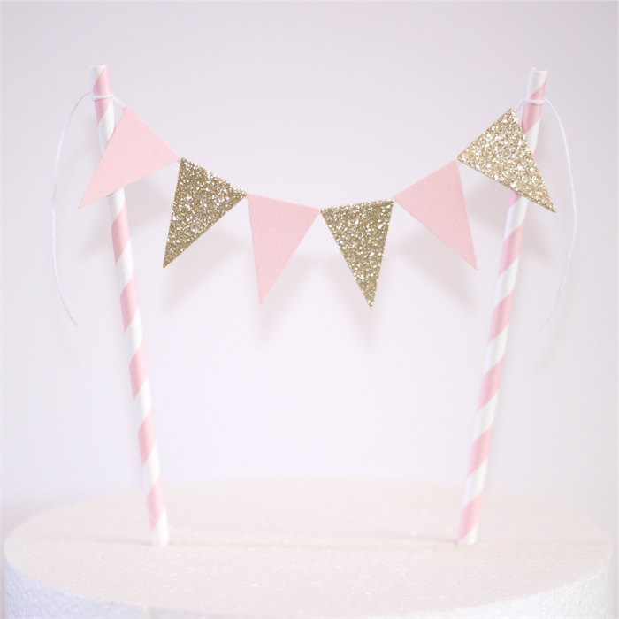 How To Put Bunting On A Cake