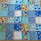 Double Sided Flannelette Ragged Playmat Quilt